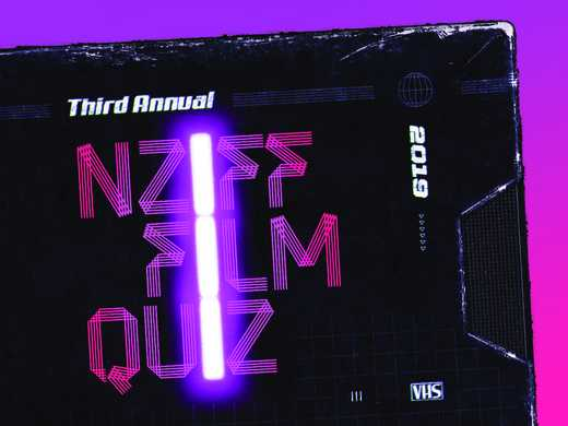 The 2019 Auckland Film Quiz