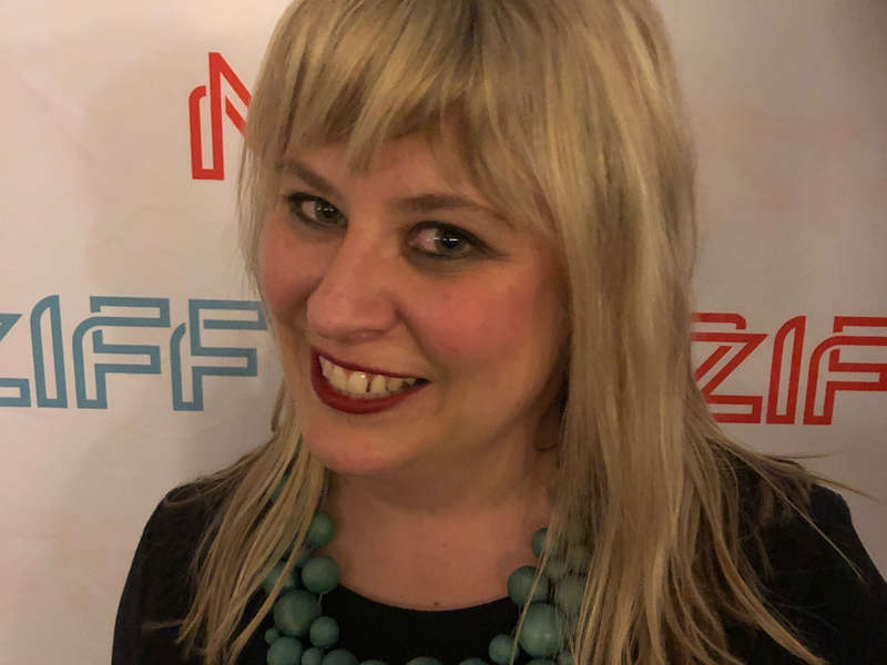 Meet our NZIFF Champions: Rebecca Goodbehere - Senior Usher for NZIFF, celebrating her 20th year in the job
